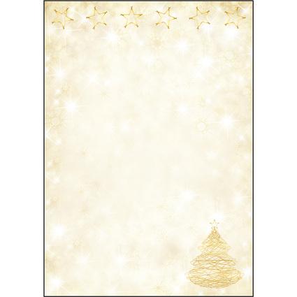 """sigel Weihnachts-Motiv-Papier """"Graceful Christmas"""", A4"""
