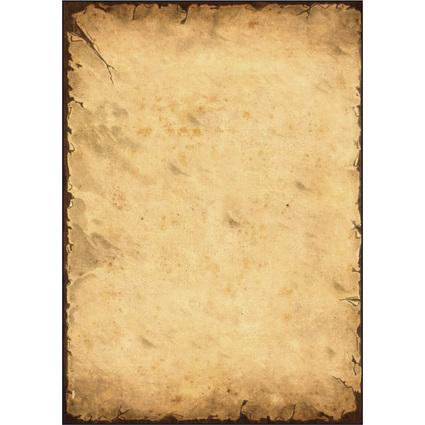 """sigel Design-Papier, DIN A4, 90 g/qm, Motiv """"History"""""""