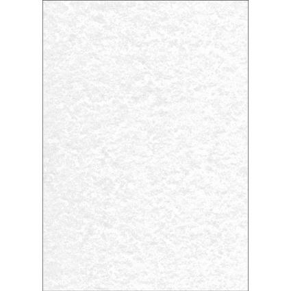 sigel Struktur-Papier, A4, 90 g/qm, Feinpapier, Perga grau