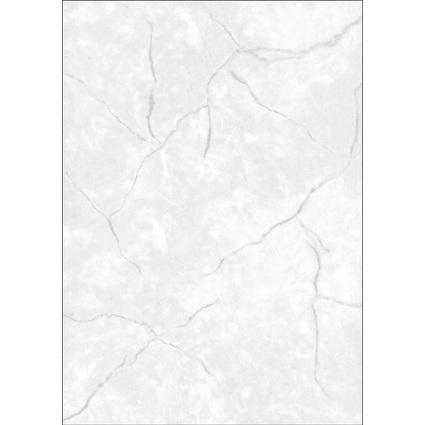 sigel Struktur-Papier, A4, 200 g/qm, Edelkarton, Granit grau