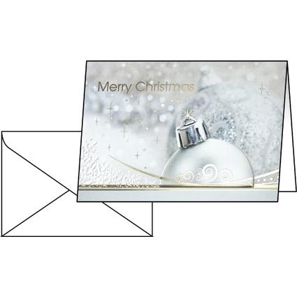 """sigel Weihnachtskarte """"Brillance"""", A6 (A5)"""