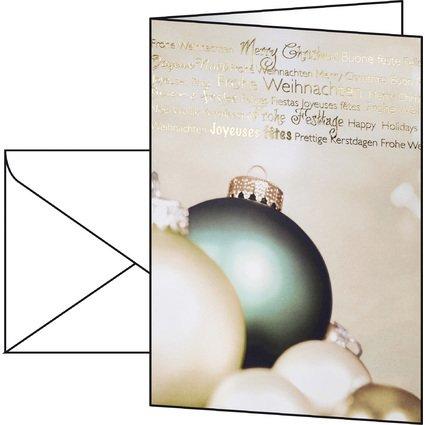"sigel Weihnachtskarte ""Fantastic"", A6 (A5)"