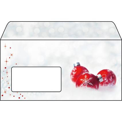 """sigel Weihnachts-Umschlag """"Winter Time"""", DIN lang, 90 g/qm"""