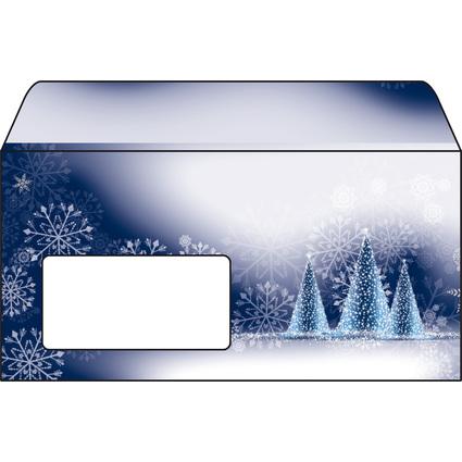 "sigel Weihnachts-Umschlag ""Night Sky"", DIN lang, 90 g/qm"