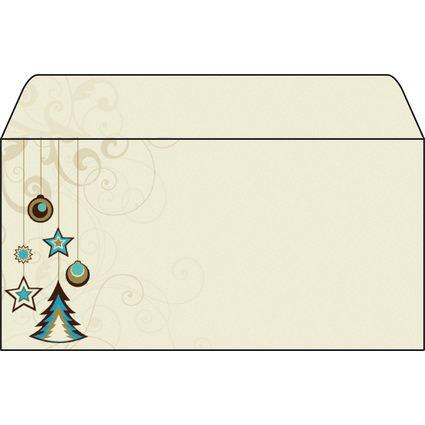 """sigel Weihnachts-Umschlag """"Decoration"""", DIN lang"""