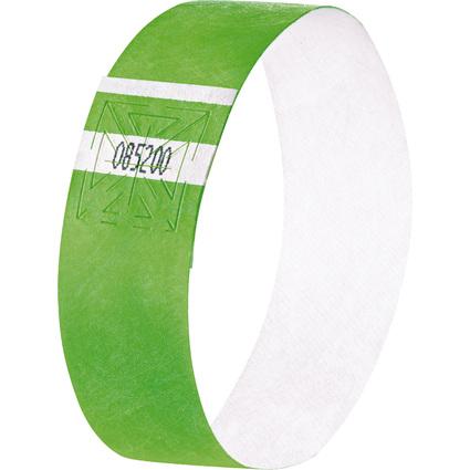 """sigel Eventbänder """"Super Soft"""", reißfest, neon grün"""