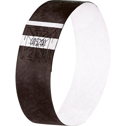 """sigel Eventbänder """"Super Soft"""", reißfest, schwarz"""