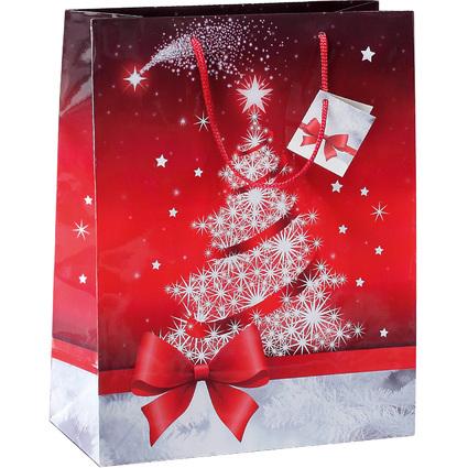 """sigel Weihnachts-Geschenktüte """"Sparkling Tree"""", klein"""