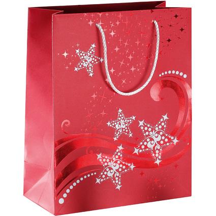 """sigel Weihnachts-Geschenktüte """"Wave"""", klein"""