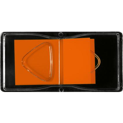 """sigel Haftstreifen """"Z-Marker"""" Neon, 25 x 45 mm, neon-orange"""
