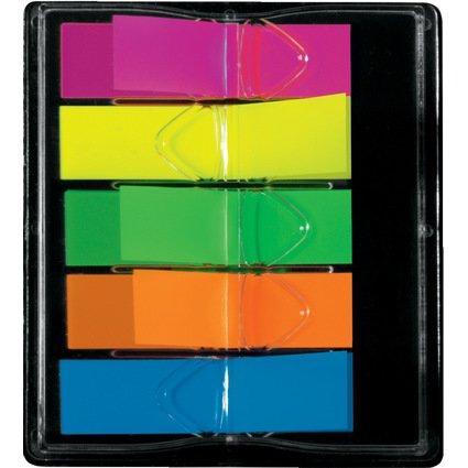"""sigel Haftstreifen """"Z-Marker"""" Film Mini Neon, 12 x 45 mm"""