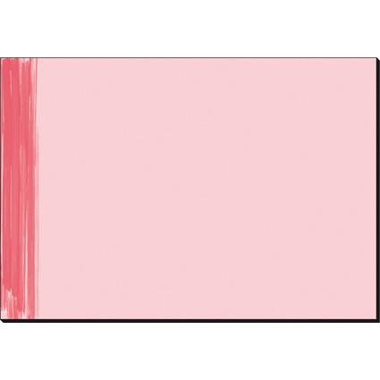 """sigel Papier-Schreibunterlage """"Red Salsa"""", 595 x 410 mm"""