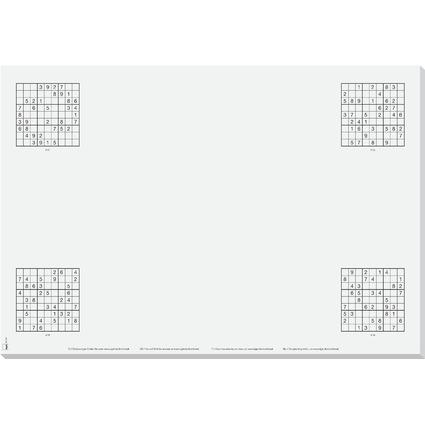 """sigel Papier-Schreibunterlage """"Short Break"""", 595 x 410 mm"""