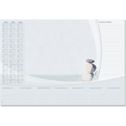 """sigel Papier-Schreibunterlage """"Harmony"""", 590 x 410 mm"""
