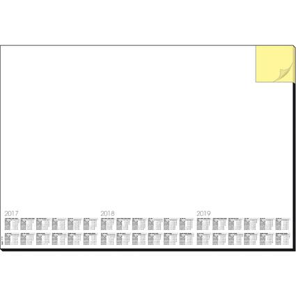 """sigel Papier-Schreibunterlage """"Memo"""", 595 x 410 mm"""
