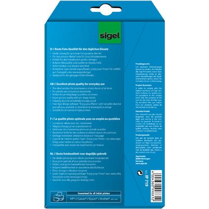 sigel InkJet-Everyday-Foto-Papier, 10 x 15 cm, weiß