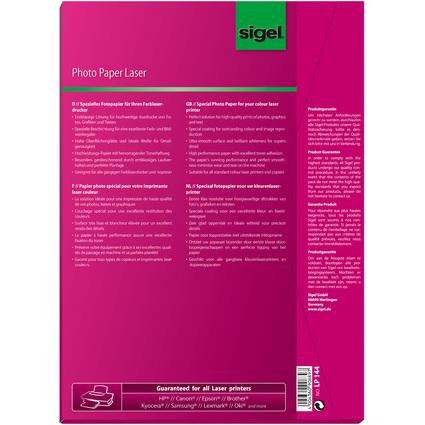 sigel Foto-Papier, DIN A4, 200 g/qm, 2-seitig glossy