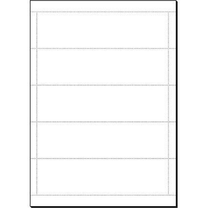 sigel Ordnerrücken-Einsteckschilder, breit, 53 x 190 mm