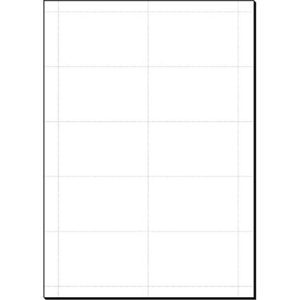 sigel PC-Einsteckschilder für Namensschilder, 54 x 90 mm