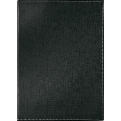 sigel Speisekarten-Mappe, A4, schwarz, Buchschrauben-Bindung