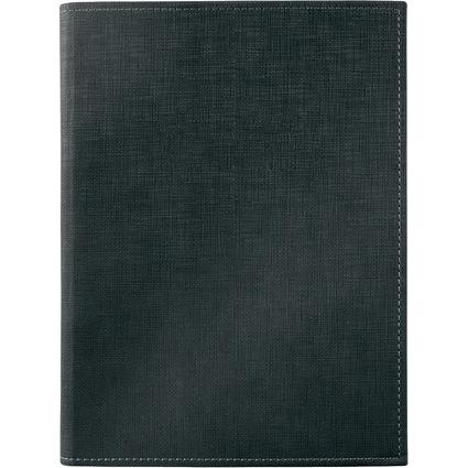 sigel Speisekarten-Mappe, A5, schwarz, Buchschrauben-Bindung