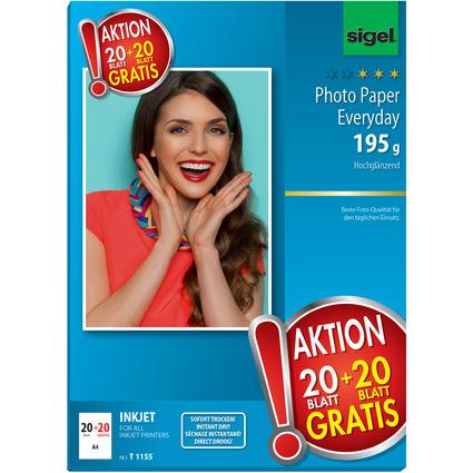 """sigel InkJet-Everyday-Foto-Papier """"HOT DEAL"""", DIN A4"""