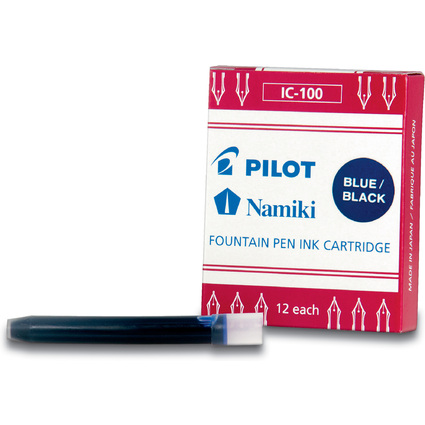 PILOT Tintenpatronen Namiki,für Füllhater Capless,nacht blau