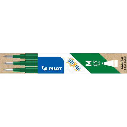 PILOT Tintenroller-Ersatzmine BLS-FR7, Strichfarbe: grün
