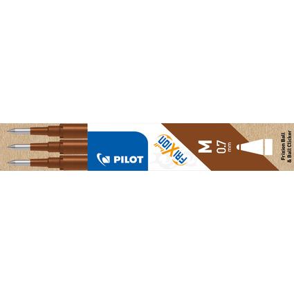 PILOT Tintenroller-Ersatzmine BLS-FR7, Strichfarbe: braun