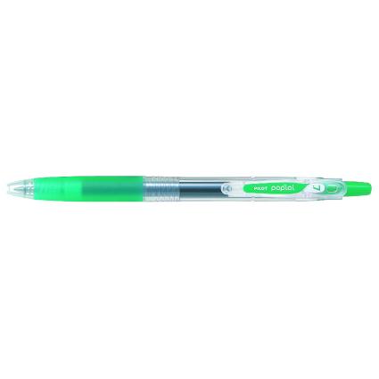 PILOT Gelschreiber POP'LOL, grün, Strichstärke: 0,4 mm