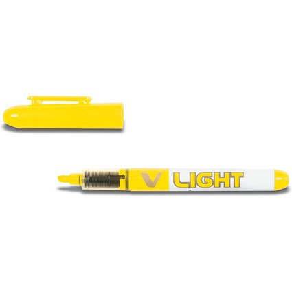 PILOT Liquid-Ink Textmarker V Light, gelb
