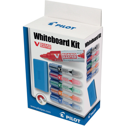 PILOT Whiteboard-Marker V BOARD MASTER Set