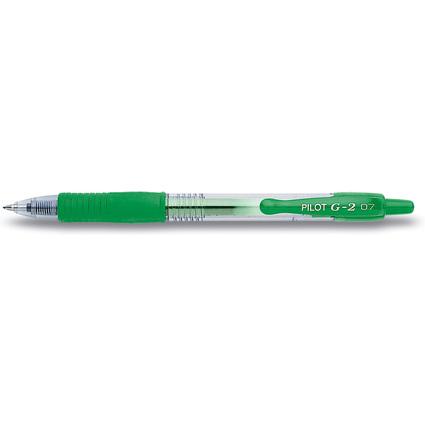 PILOT Gelschreiber G2 07, grün
