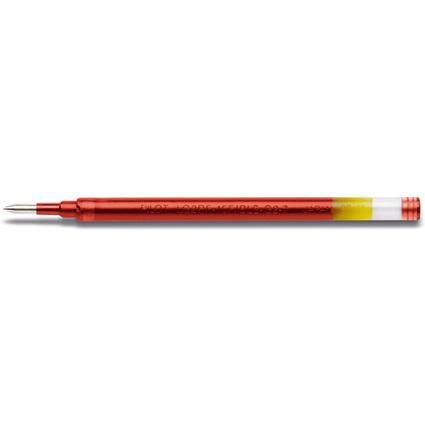 PILOT Gelschreiber-Ersatzmine BLS G2 07, Strichfarbe: rot
