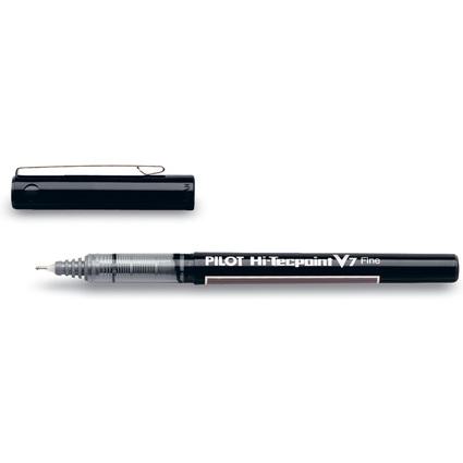 PILOT Tintenroller Hi-Tecpoint V7, Strichfarbe: schwarz