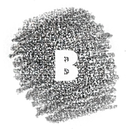 STAEDTLER Bleistift Mars Lumograph, Härtegrad: B