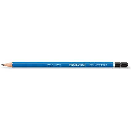 STAEDTLER Bleistift Mars Lumograph, Härtegrad: F