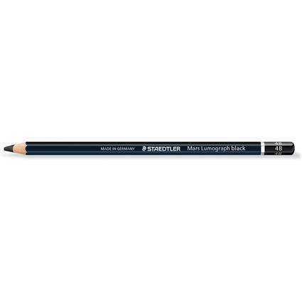 STAEDTLER Bleistift Mars Lumograph black, Härtegrad: 4B