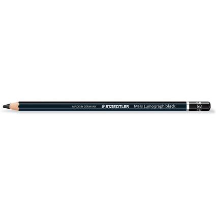 STAEDTLER Bleistift Mars Lumograph black, Härtegrad: 6B