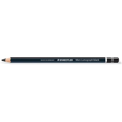 STAEDTLER Bleistift Mars Lumograph black, Härtegrad: 8B