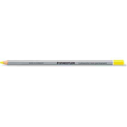 STAEDTLER Lumocolor non-permanent omnichrom 108, gelb