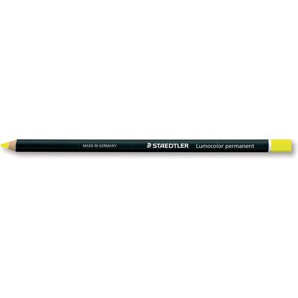STAEDTLER Trockenmarker Lumocolor permanent glasochrom, gelb