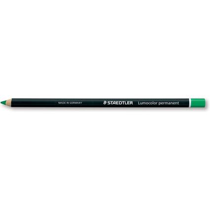 STAEDTLER Trockenmarker Lumocolor permanent glasochrom, grün