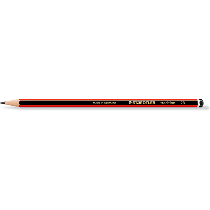 STAEDTLER Bleistift tradition 110, Härtegrad: 2B
