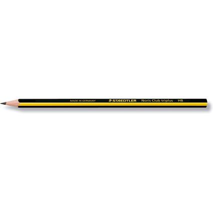 STAEDTLER Bleistift Noris Club triplus, Härtegrad: HB