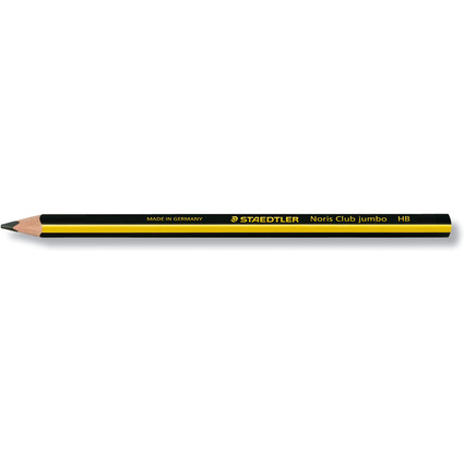 STAEDTLER Bleistift Noris Club triplus jumbo, Härtegrad: HB