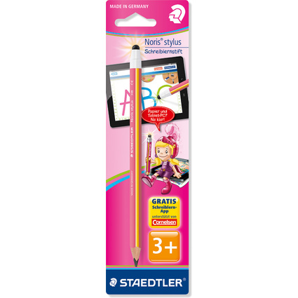 STAEDTLER Eingabestift Noris stylus, pink