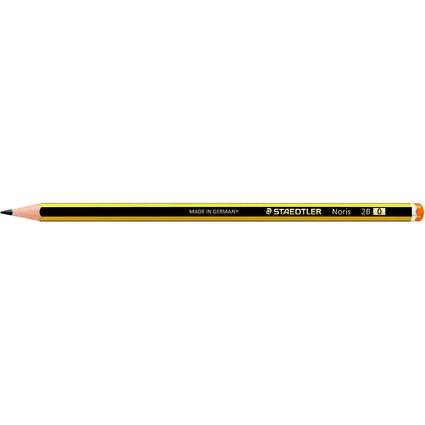 STAEDTLER Bleistift Noris, sechseckig, Härtegrad: 2B