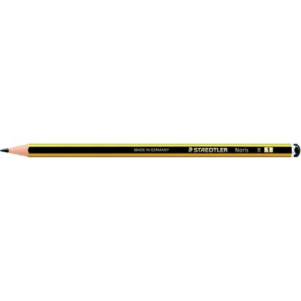 STAEDTLER Bleistift Noris, sechseckig, Härtegrad: B
