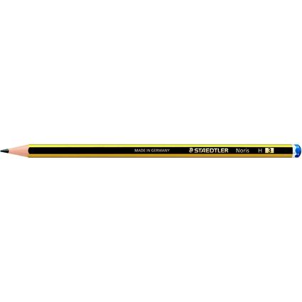 STAEDTLER Bleistift Noris, sechseckig, Härtegrad: H